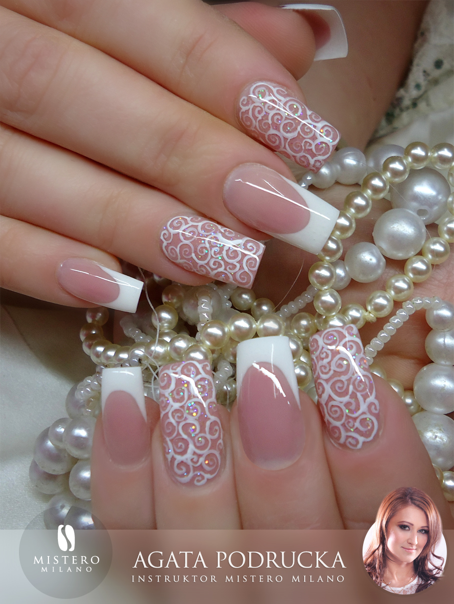 Similar Design: French Manicure Acrylic Style Nail Art Gallery.